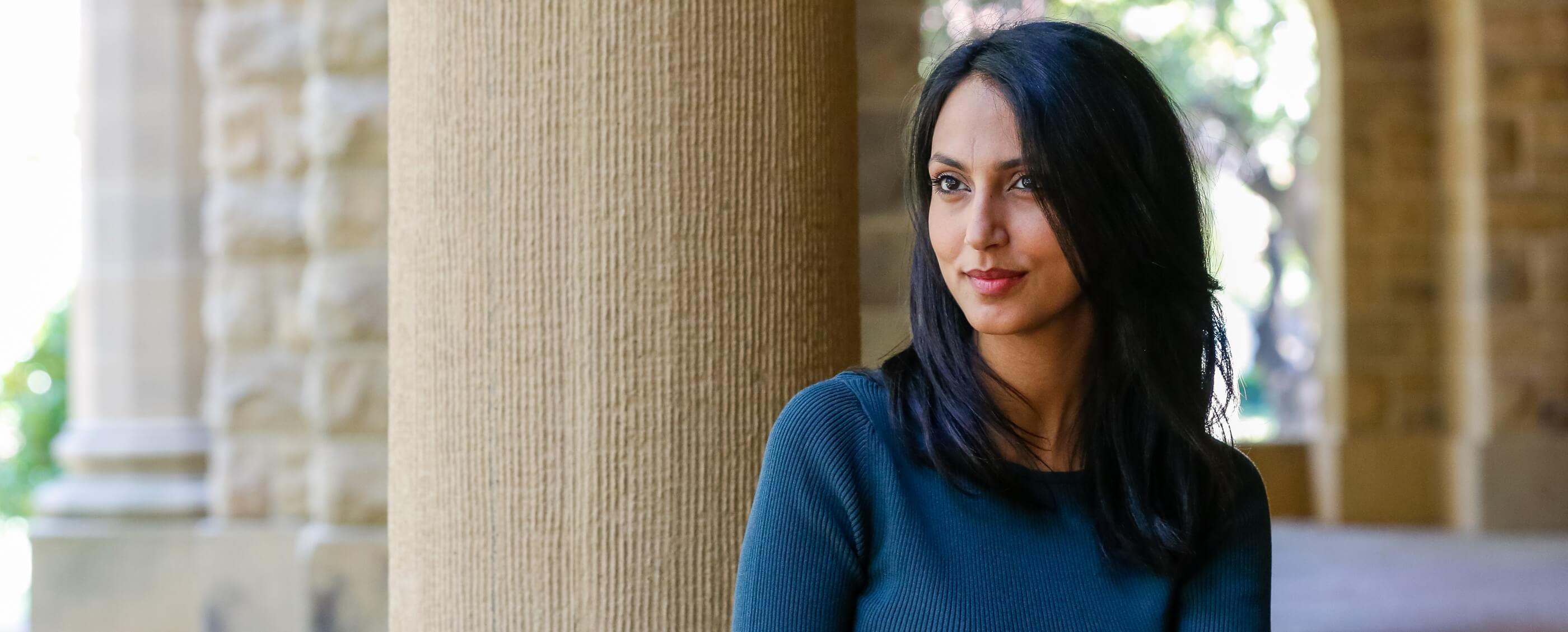 Sophia Salma Shramko, MBA '19. Credit: Kiefer Hickman