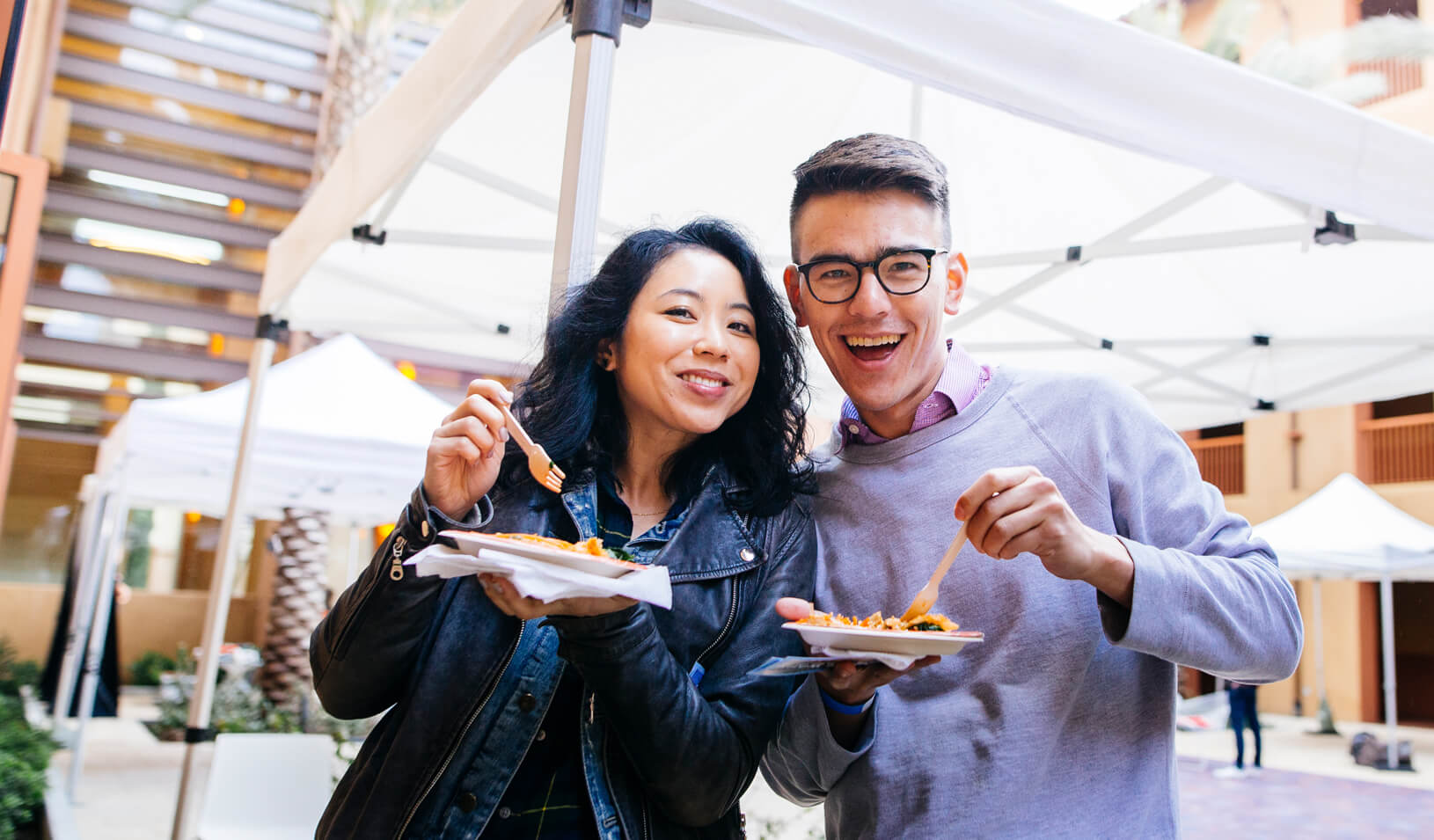 GSB: Stanford GSB's Top Chefs Compete In Window Wars